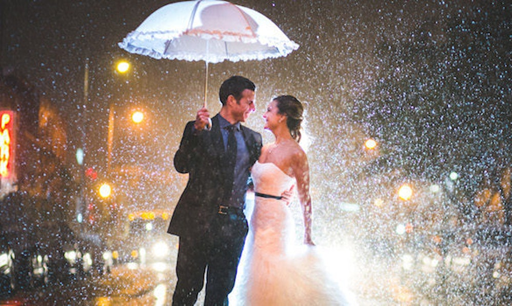 These stunning photos will make you pray it rains on your wedding day junglespirit Images