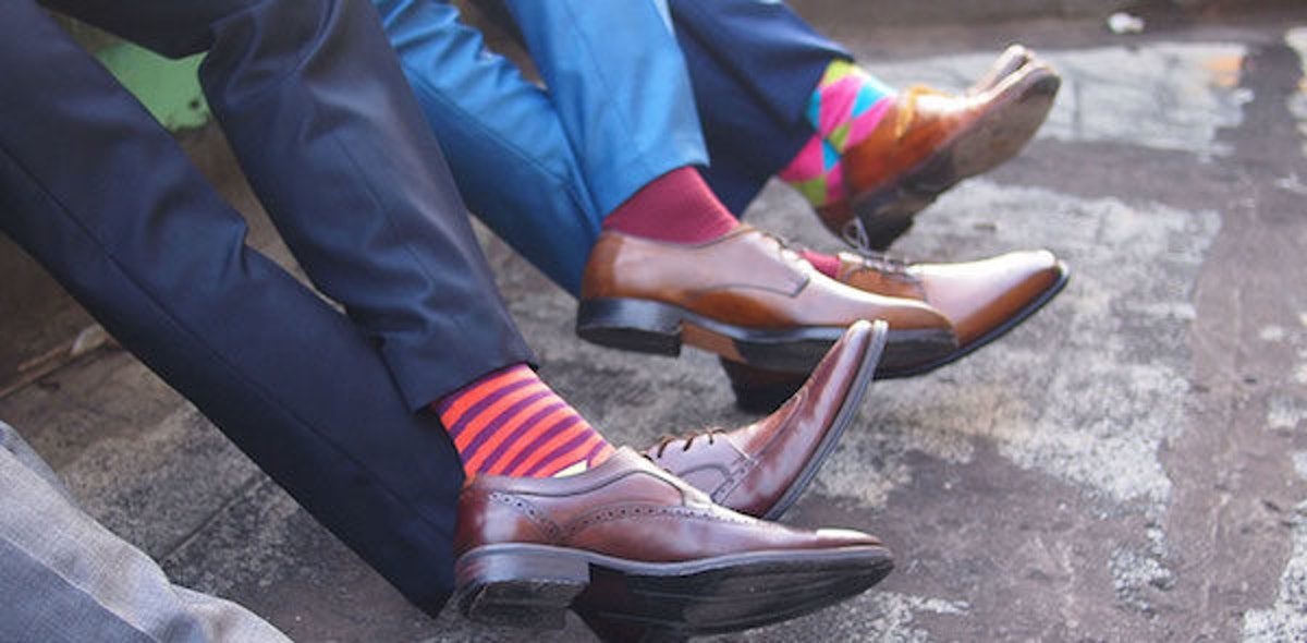 People Who Wear Crazy Socks Are Rebellious, Intriguing Successful