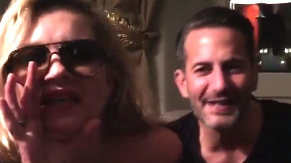 ccf6e8ea52 Kate Moss Made  Basic Bitch  Video With Marc Jacobs Before Plane Incident