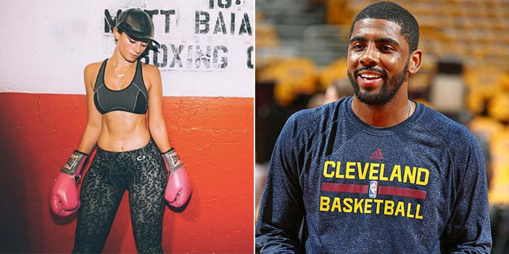 Someone Caught Kyrie Irving Liking Model's Pic During NBA ...