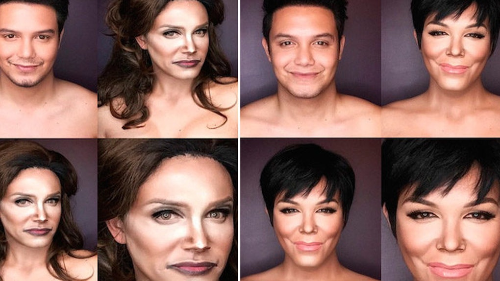 Guy Turns Himself Into Caitlyn Jenner In Stunning Makeup