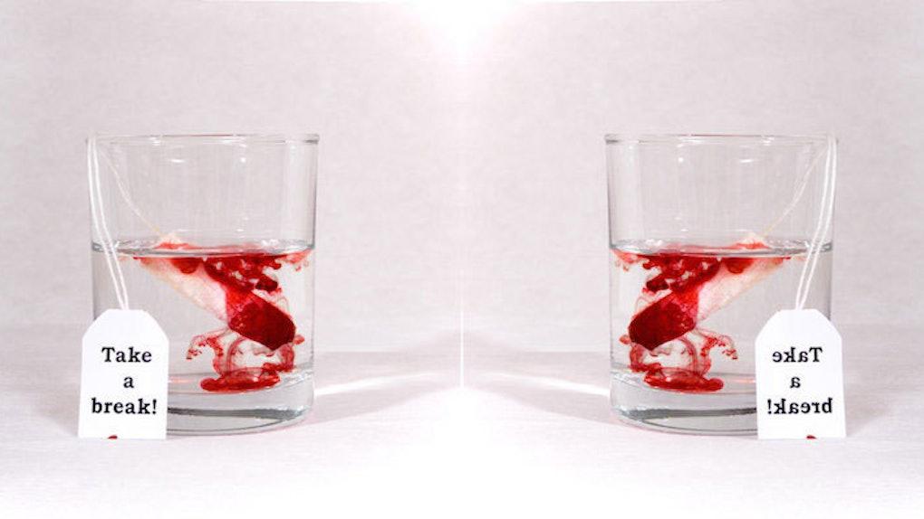 Ilustrasi darah menstruasi