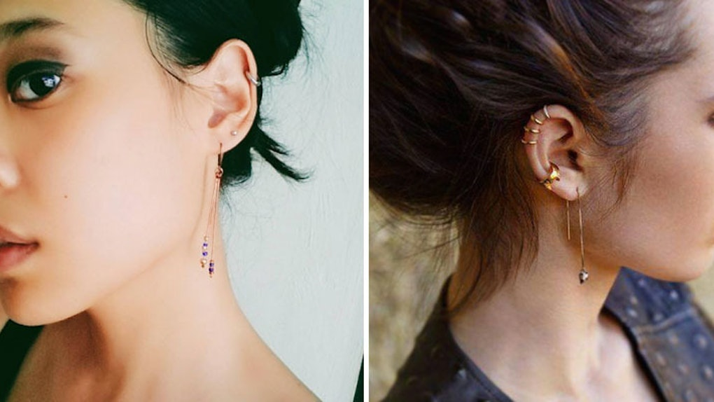 Dont Ignore Your Second Hole How To Showcase The Double Piercing
