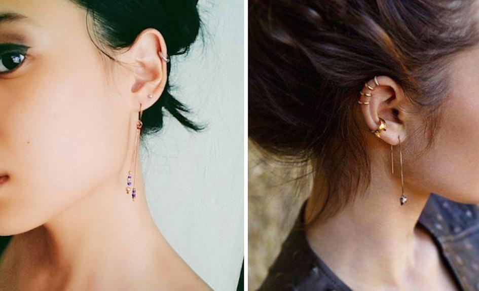 why do guys wear earrings in both ears
