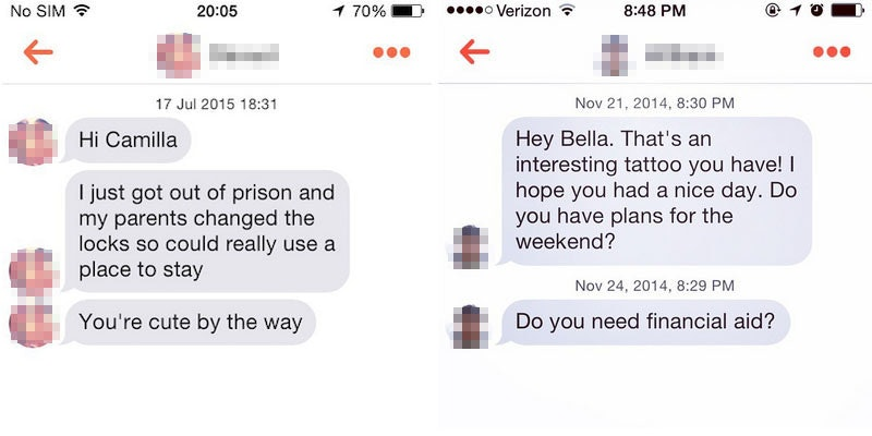 Tinder hook up stories