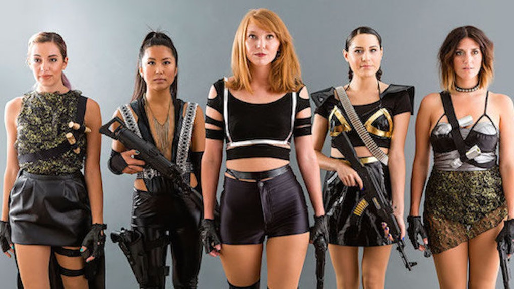 Here S How To Diy Taylor Swift S Badass Bad Blood Group Costumes