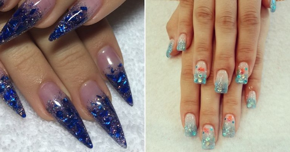 Women Are Getting \'Aqua Tips\' To Turn Their Nails Into Mini ...