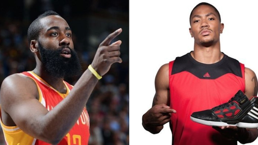 d279475e6073 Why James Harden Can Thank D Rose For His  200 Million Opportunity