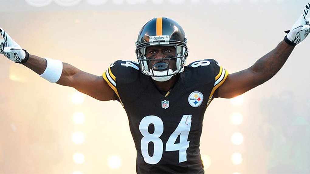 new products 298db ea253 Antonio Brown Used To Be A Homeless Teenager, Now He's An ...
