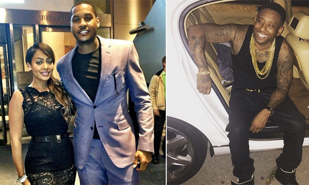 La La Allegedly Cheated On Husband Carmelo Anthony With A ...