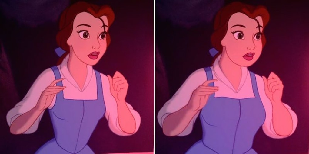 Disney Princesses With Realistic Body Sizes Are Just Completely