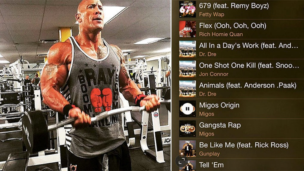 The Rock S Music Playlist For His Intense Workouts Is