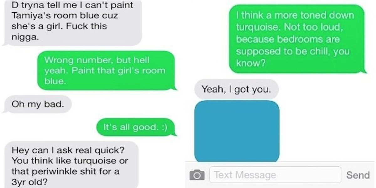 This Person Texted The Wrong Number But Actually Got The Perfect Advice