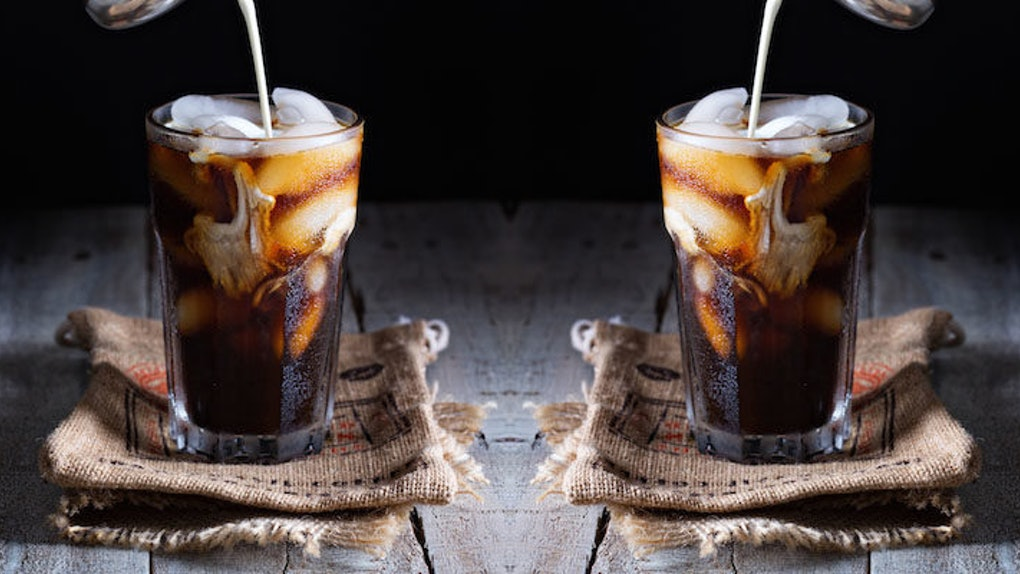 People Who Drink Iced Coffee Are Healthier — With One Catch