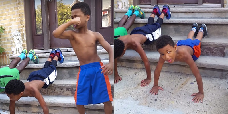 This Jamaican Kids Workout Speech Is All The Gym Motivation You Need Video