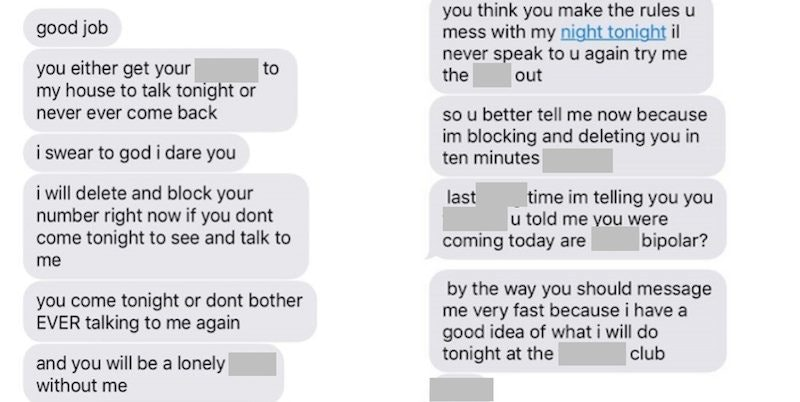 Text messaging dating rules