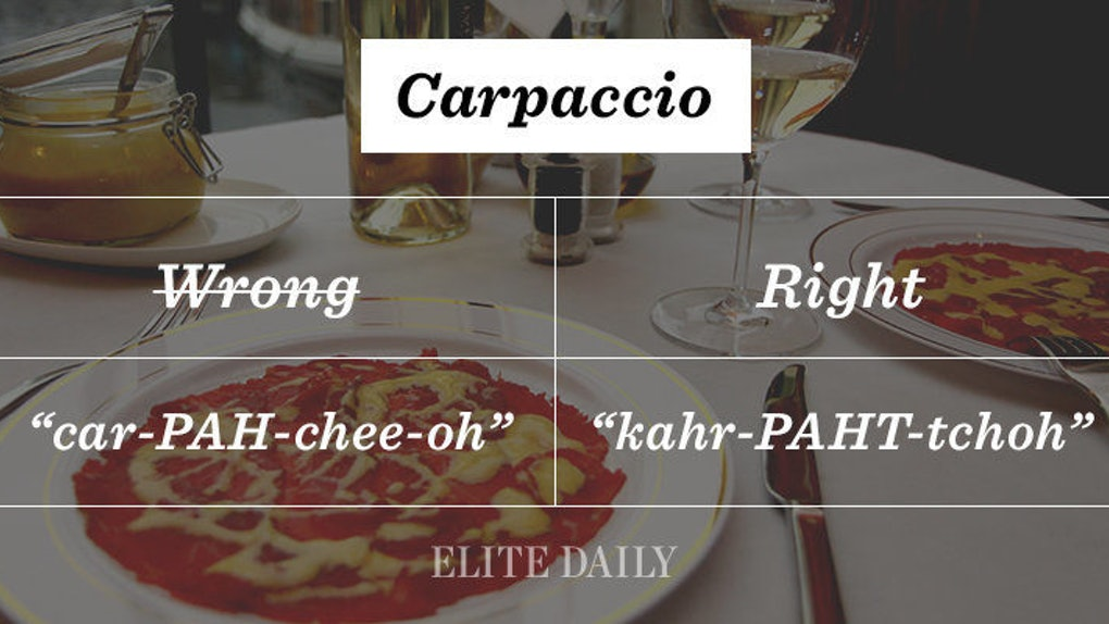 25 Of Your Favorite Italian Foods You Ve Been Saying Completely Wrong