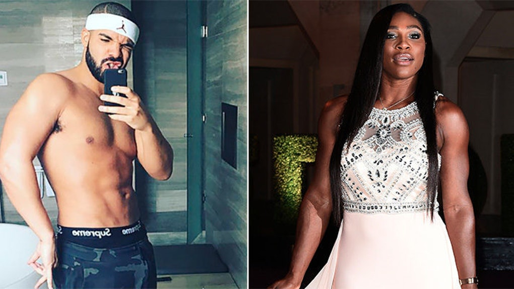 Serena Williams Just Left A Flirty Comment On Drakes Shirtless Photo