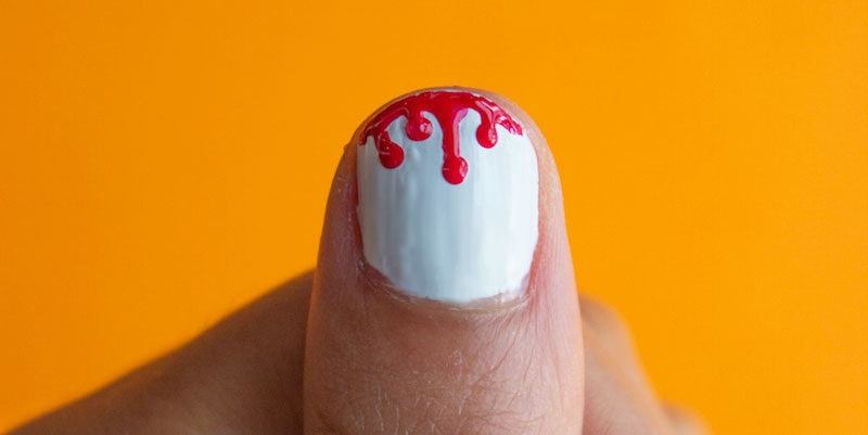 6 Easy Halloween Nail Art Designs That Don\u0027t Require Special