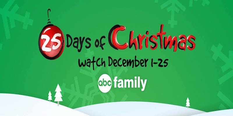 image relating to Abc Family 25 Days of Christmas Printable Schedule named The Vacations Get started Presently: ABC Releases 25 Times Of Xmas