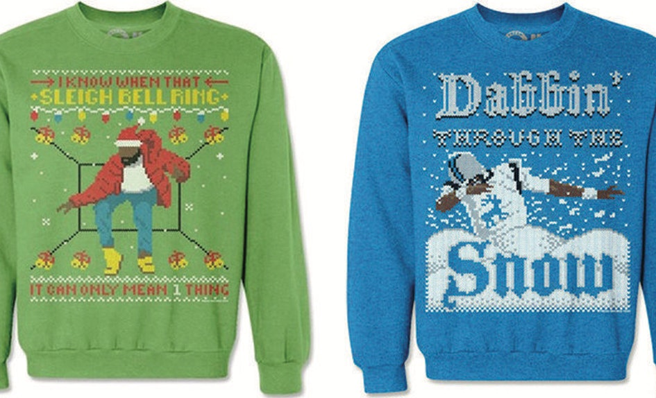 You Can Get An Ugly Christmas Sweater With Your Favorite Celebrity ...