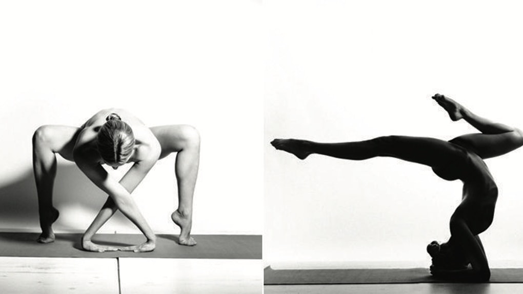 This Woman Does Yoga Completely Naked And It Looks Insanely Beautiful Photos