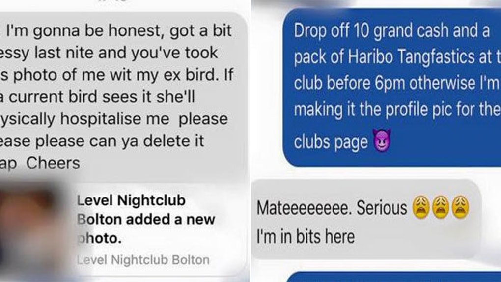 Club Has Best Response To Guy Wanting A Photo Of Him Cheating