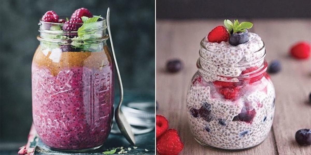 27 Healthy Mason Jar Breakfasts You Can Eat On The Go (Photos)