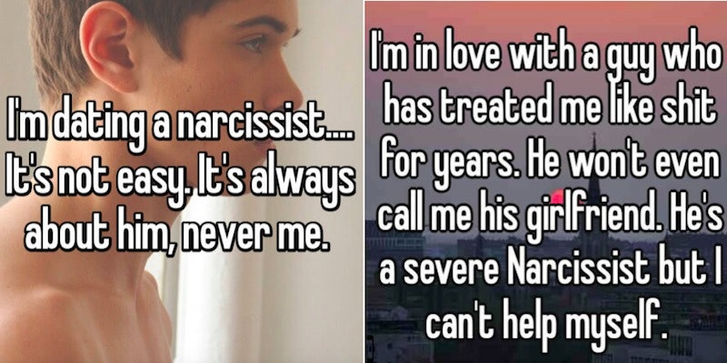 are dating a narcissist