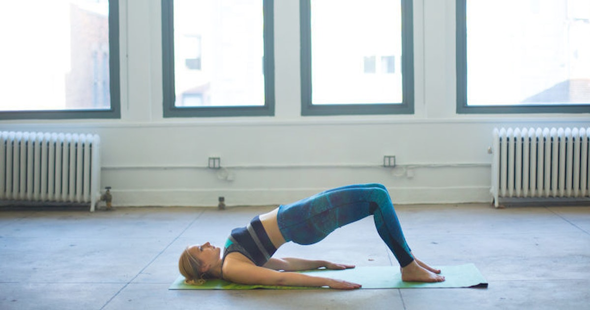 5 Yoga Poses To Fix The Damage Your Desk Job Does To Your Body