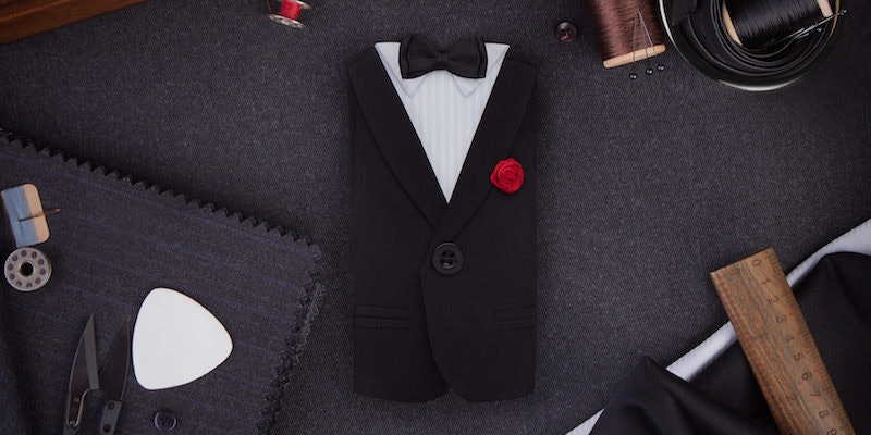 Suit and penis