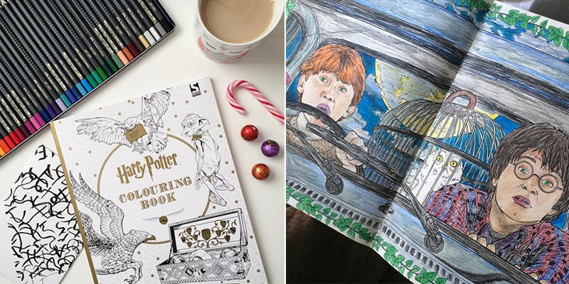 - I Bought A 'Harry Potter' Coloring Book, And It Changed My Life