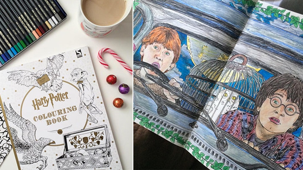 I Bought A \'Harry Potter\' Coloring Book, And It Changed My Life