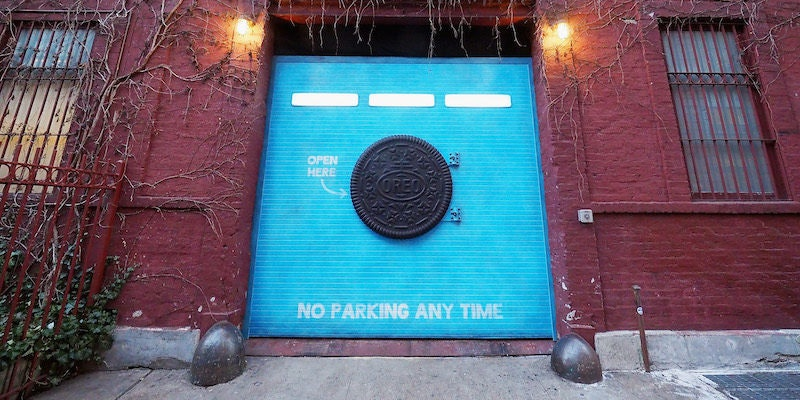 Yes there s a secret oreo wonder vault full of free cookies