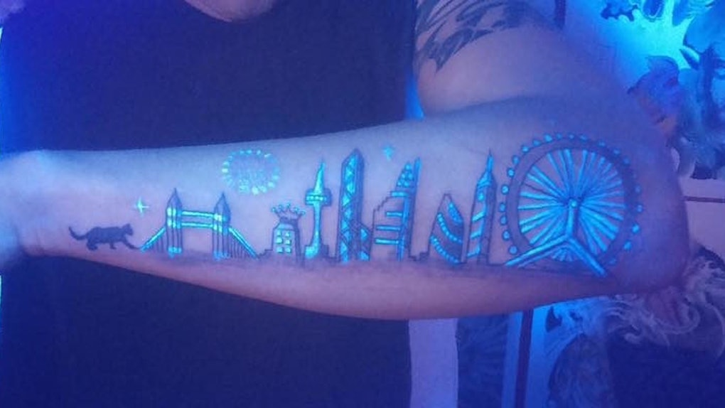 Glow In The Dark Tattoos Are Here To Solve Your Ink Commitment Issues