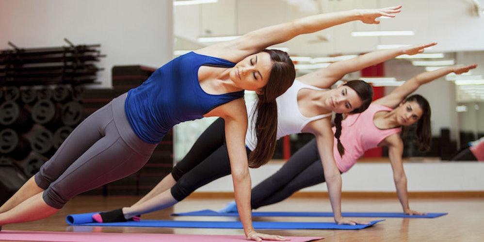 w yoga class