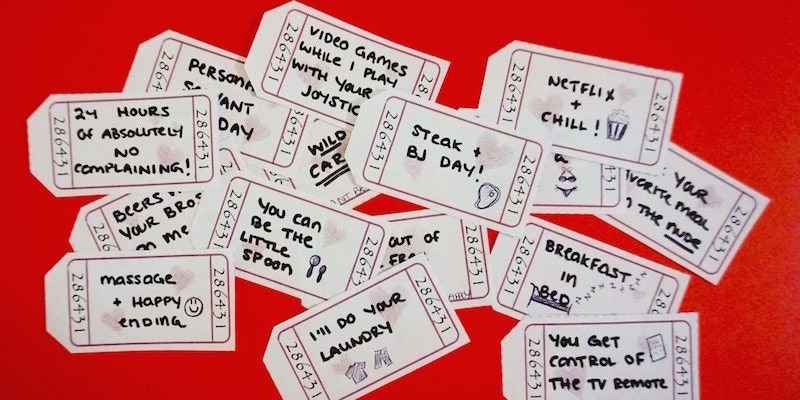 Make Your Love Coupon Book