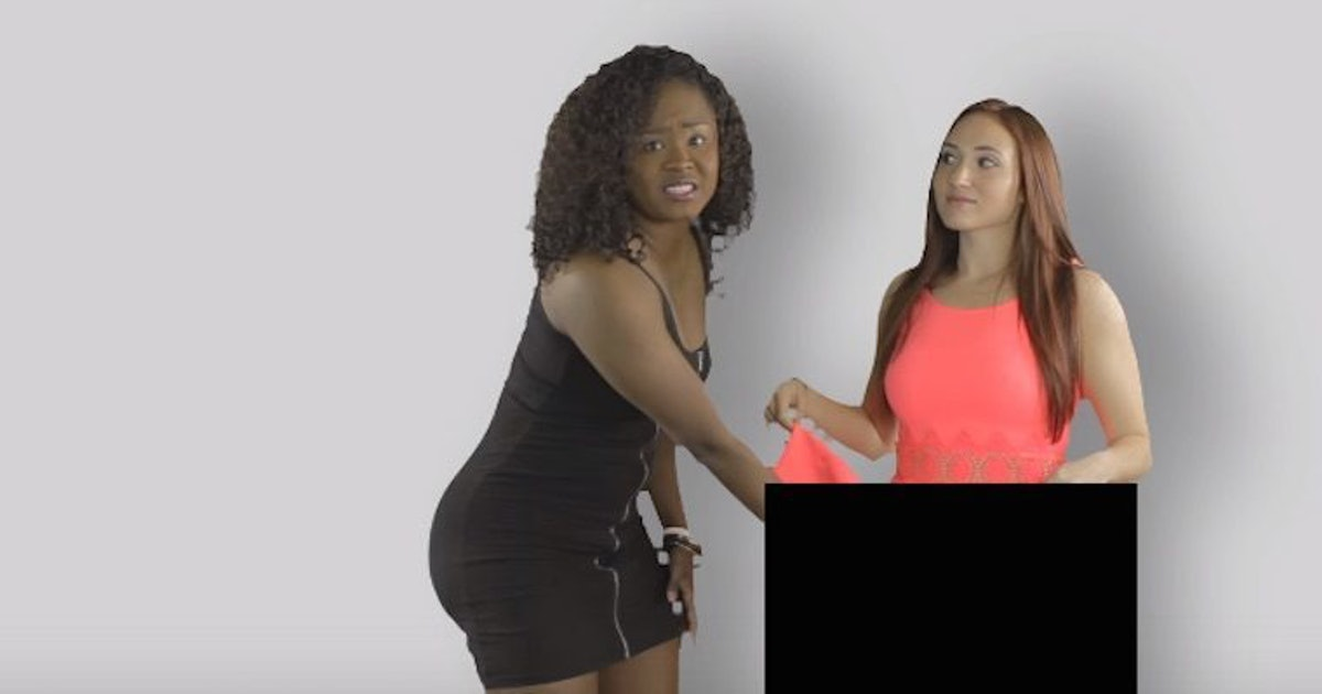 woman touching another woman