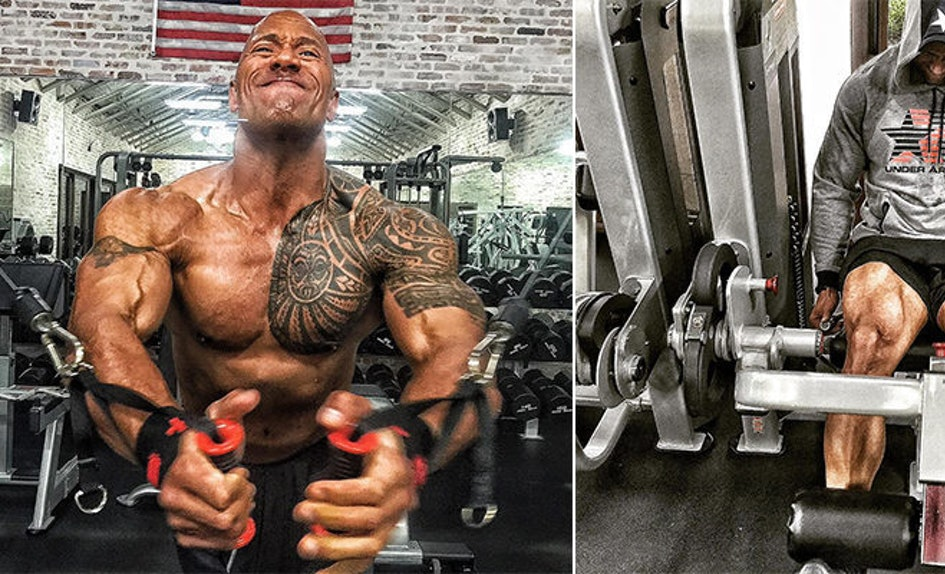 this guy is trying the rock s insane fitness plan and it s changing
