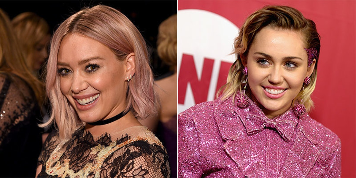 Miley Cyrus Saw Hilary Duff On Tinder And Said She'd 'Swipe Right'
