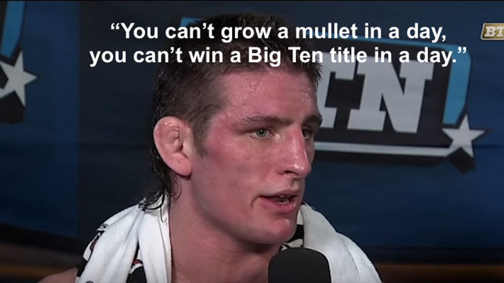 This Wrestler Will Not Stop Talking About His Mullet In This Post
