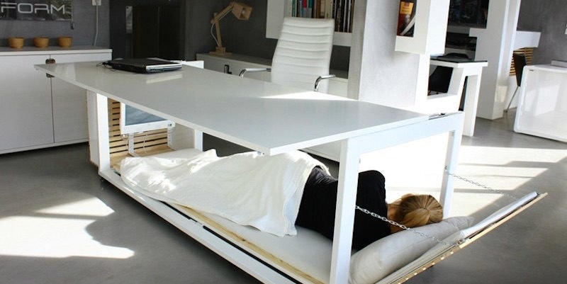 New Age Of Productivity: Nap Desks, Naked Co Workers And 6 Hour Work Days