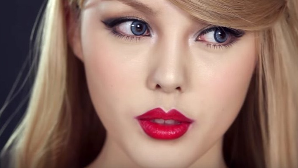 Korean Makeup Artist Transforms Herself To Look Exactly Like Taylor