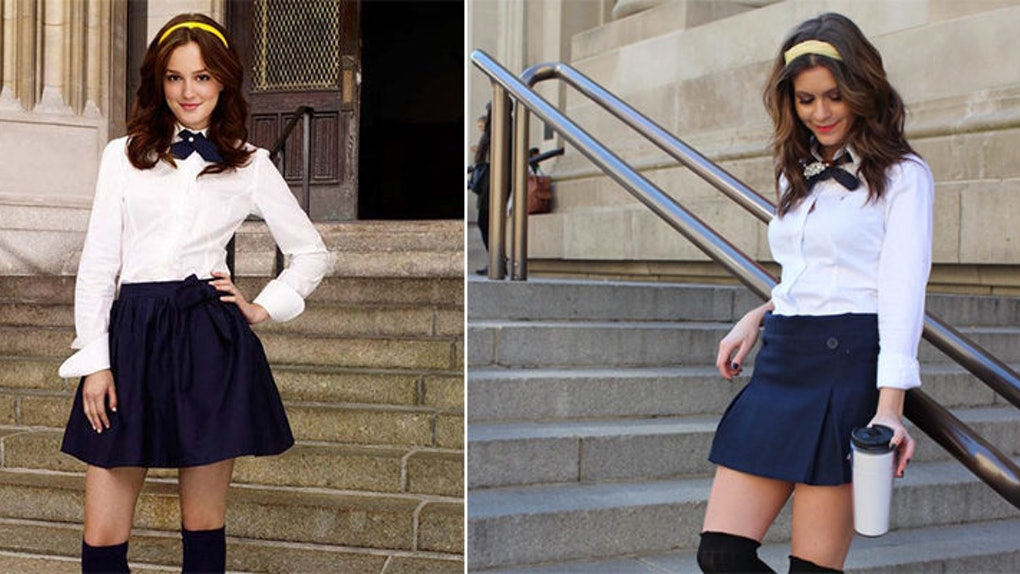 b979f86f0fa0 I Copied Blair Waldorf s 8 Preppiest Outfits
