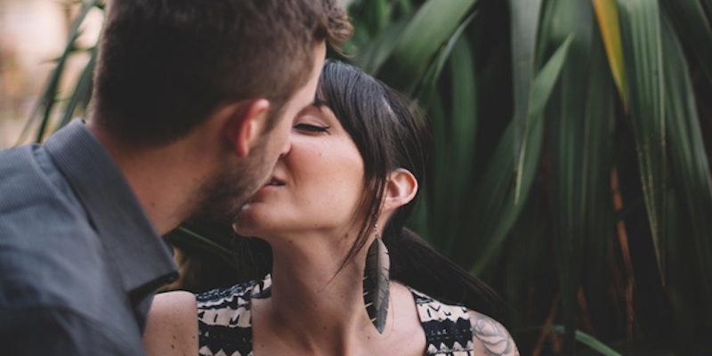 Kissing cfnm handjob