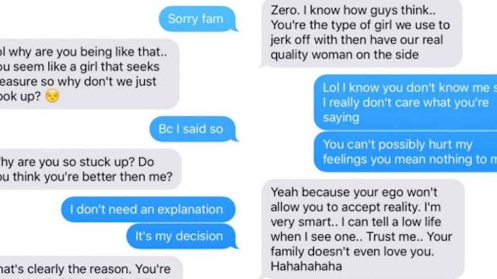 Woman Shares Vicious Texts She Got After Refusing To Have