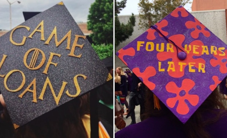 30 creative graduation caps that are worthy of an a
