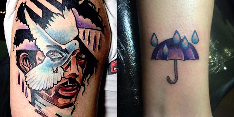 15 Incredible Prince Tattoos That Prove Art Is The Best Way To