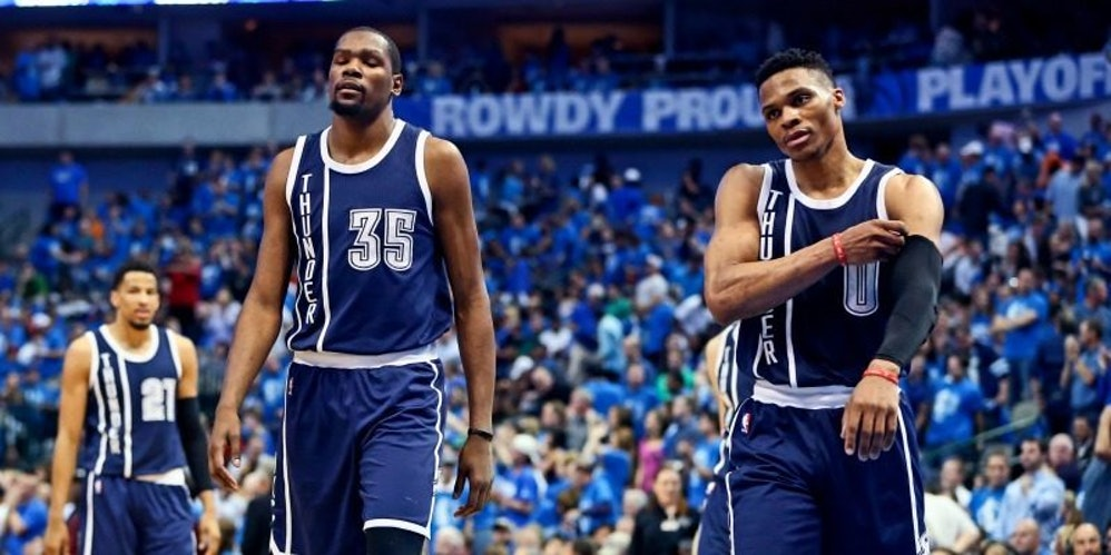 Kevin Durant And Russell Westbrook Are The NBA Playoff Assh*les We Need