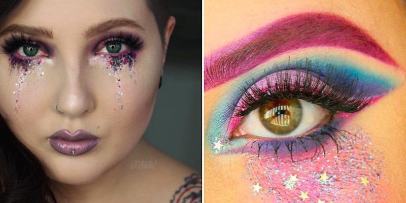 These Gorgeous Glitter Tears Will Add Some Sparkle To Your